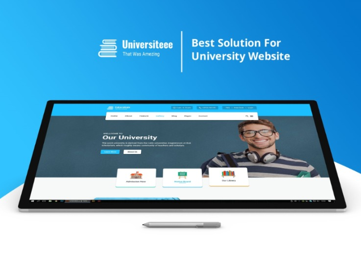 Universiteee - University & College Html Template - 21 Html Pages