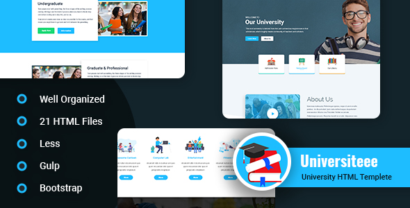 What Universiteee - Universiteee - University & College Html Template